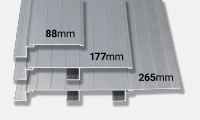 Tray Length Variations
