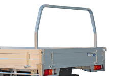 CONTOURED STEEL REMOVABLE REAR RACK TO SUIT OUR FLEET TRAY