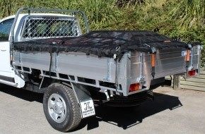 Safeguard Cargo Nets - Single Cab Cargo