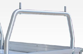 76mm Rear Removable Rack 1880mm W - POD Mounted