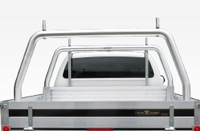76mm Rear Removable Rack 1880mm W - Chassis Mounted