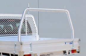 76mm Rear Removeable Rack 2200mm W