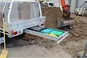 Secure your tools -Trundle Tray