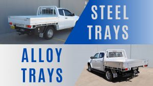 Aluminium vs Steel Ute Trays: Which is Better?