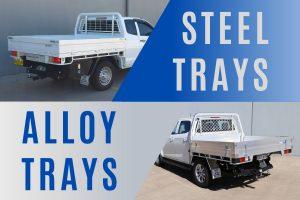 Aluminium vs Steel Ute Trays: Which is Better?
